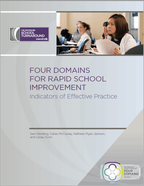 Four Domains for Rapid School Improvement