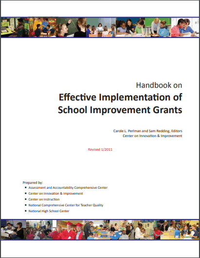Handbook on Effective Implementation of School Improvement