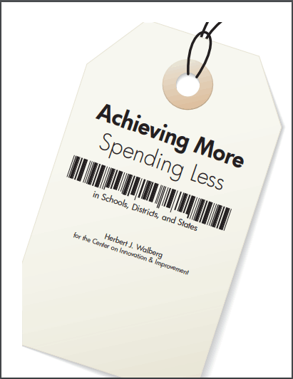 Achieving More, Spending Less
