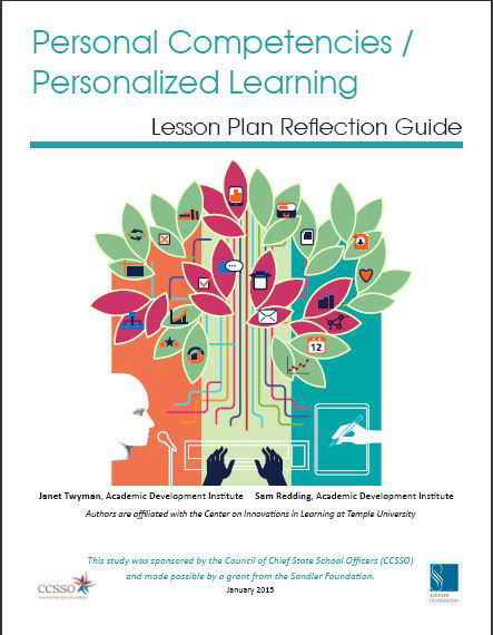 Personal Competencies/ Personalized Learning: Lesson Plan Refecltion Guide