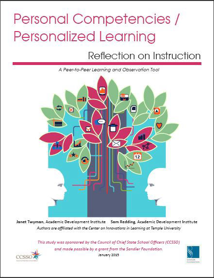 Personal Competencies/ Personalized Learning: Lesson Plan Reflection Guide